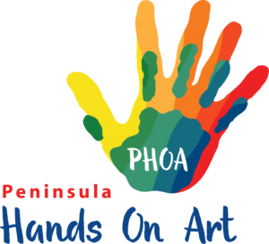 Hands on art logo