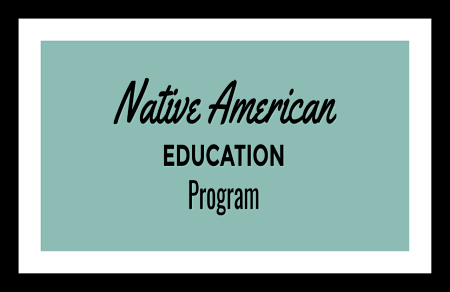 """Native American Education Program"" poster"