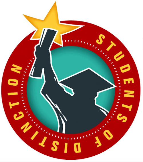 logo for student of distinction program