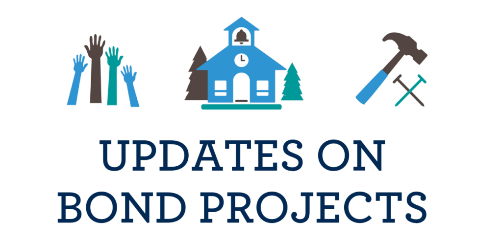 Updates on bond projects