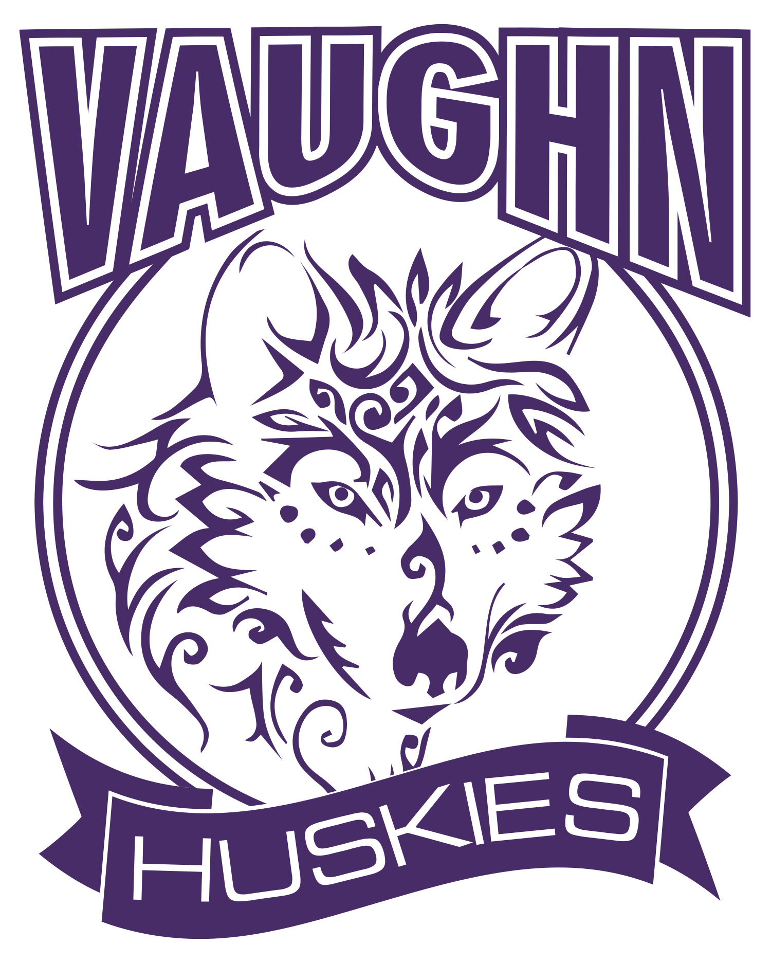 Purple Vaughn Husky