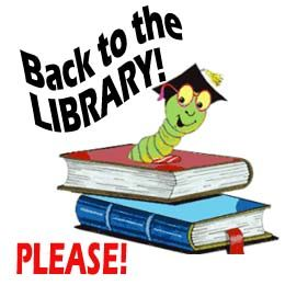 Back To Library Clipart