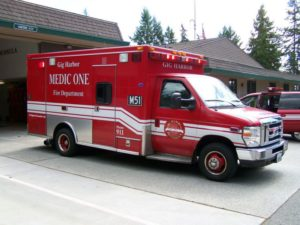 GH FIre and Medic one