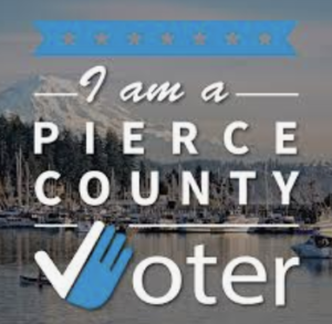 I am a PIERCE COUNTY Voter