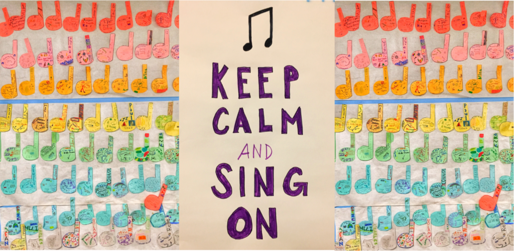 KMS Choir Student Art
