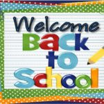 welcome back information